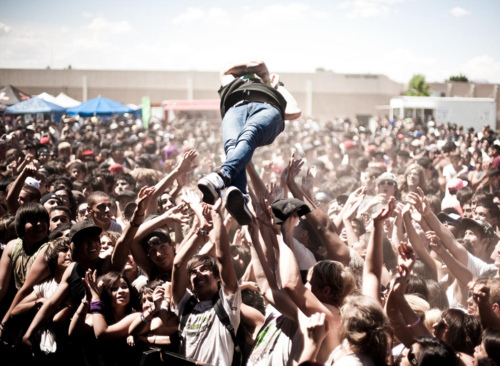Crowd surf fetish picture 22